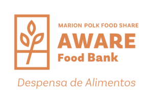 MARION POLK FOOD SHARE AWARE Food Bank Despensa de Alimentos
